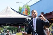 Sacramento Mayor Kevin Johnsonrecalled that while on the road as a National Basketball Association star, he was always happy to see a Tower Records store, reminding him of his Sacramento roots.