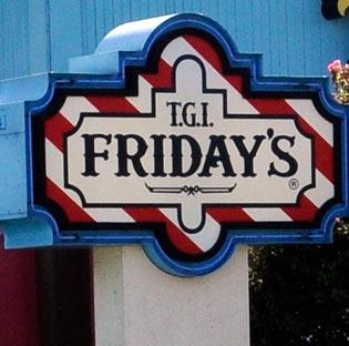 A waitress at an Augusta TGI Friday's filed a police report following a fight over tables and tips.