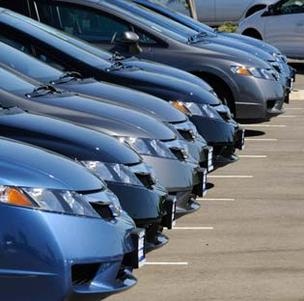 slow new car sales california