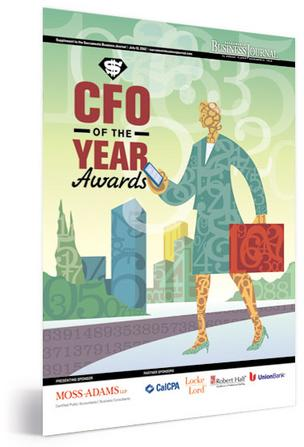 CFO of the Year Awards 2012 cover