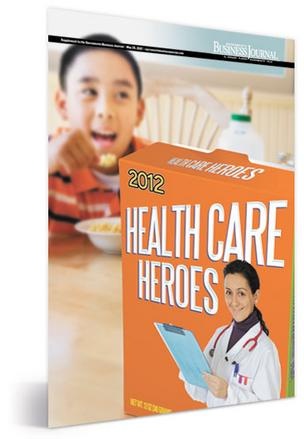 2012 Health Care Heroes cover