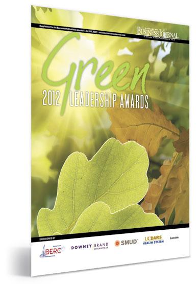 2012 Green Leadership Awards cover