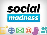 Target has run off to a big lead in the first round of the Social Madness contest.