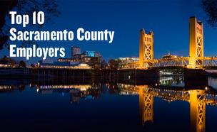 Top 10 Sacramento County employers slideshow from The List