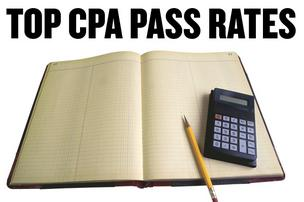 California universities with the highest CPA exam pass rates in 2011 included schools big and small, public and private.