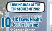 No. 10 -- UC Davis Health System's CEO, Dr. Claire Pomeroy, announced in November she will leave next year after a nearly a decade. The system has been battered by a pair of challenges in recent months: Federal investigators have faulted it for experimental treatments used on some cancer patients. And in June a faculty committee complained that the UCD medical school retaliated against a professor who accused them of letting business interests influence education.