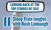 No. 11 -- Rocklin-based mattress retailer Sleep Train, an advertiser on the Rush Limbaugh radio show for 25 years, in March was among the first to pull its ads after the talk-show host stirred a national controversy by denouncing a college student who testified to Congress about birth control. Limbaugh struck back later in the month, refusing to take the company back after it offered to begin advertising again.