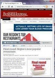 No. 14 -- Final round: Region's most popular restaurants (August)