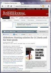 No. 17 -- Slideshow: Starting salaries for UC Davis and Sac State grads (July)