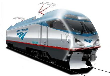 The new Amtrak Cities Sprinter (ACS64) from Siemens.