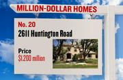 No. 20. 2611 Huntington Road, with an asking price of $1.200 million. The 4,387-square-foot house was built in 2008 and has 4 bedrooms and 4 bathrooms. It sits on a property of 0.52 acres. The listing, first posted on Aug. 31, 2012, is here.