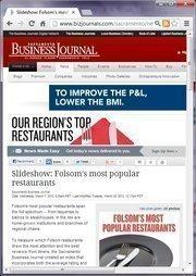 No. 20 -- Slideshow: Folsom's most popular restaurants (March)
