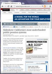 No. 21 -- Slideshow: California's most underfunded public pension systems (February)