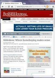 No. 24 -- Slideshow: Where homebuying makes sense (July)