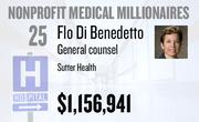 No. 25. Flo Di Benedetto, general counsel at Sutter Health