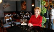 Biba Caggiano in the dining room of her restaurant at 28th Street and Capitol Mall in Sacramento.
