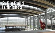 The 'Big Build' is built — Terminal B at Sacramento International Airports, a $1 billion project, opened in October — on time and under budget.
