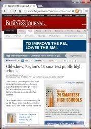 No. 2 -- Sacramento region's 25 smartest public high schools as ranked by SAT scores (May)
