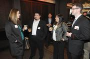 The party is just getting started at the 40 Under 40 awards Thursday night at Cafeteria 15L.