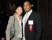 One of the 40 Under 40 winners, Darrell Teat, at the 40 Under 40 event at District 30 on Tuesday.