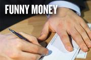 FUNNY MONEY: Have you gotten an email with an elaborate story about cashing a check? Or maybe you're trying to sell something on craigslist.org? The Better Business Bureau says scammers will contact a seller and send a check for more than the amount owed on the item. The seller is asked to deposit it, and refund the difference via a wire transfer. However, checks take a couple of days to clear, and the wire transfer happens immediately. The check bounces, and the seller is out of the extra money and is also stuck with the item.