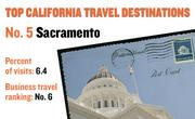 No. 5. Sacramento, with 6.4 percent of visits in 2010. The destination ranks No. 6 for business travel.