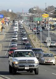 Traffic in Marysville. The biggest employer is nearby Beale Air Force Base. Home to more than 3,400 Air Force personnel and 1,100 from other military branches, the base also employs about 1,200 civilians either directly or through contractors.