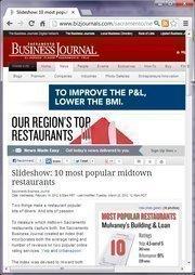 No. 8 -- Slideshow: 10 most popular midtown restaurants (February)