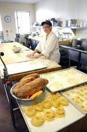 Cindy McCray makes gnocchi at Biba Restaurant in Sacramento.