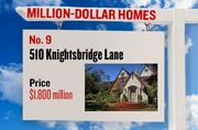 No. 9. 510 Knightsbridge Lane, with an asking price of $1.800 million. The 5,130-square-foot house was built in 1991 and has 5 bedrooms and 5 bathrooms. It sits on a property of 1.37 acres. The listing, first posted on Aug. 1, 2012, is here.