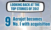 No. 9 -- Aerojet in July announced it would buy Rocketdyne from Pratt & Whitney. The $550 million deal, which is to be consummated in the spring, would make the Rancho Cordova aerospace company the Sacramento region's No. 1 public company. Combined revenues for 2012 were an estimated $1.7 billion. That's well above the current No. 1, McClatchy Co.