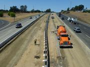Improvements on Highway 50 in El Dorado County include more than six miles of new carpool lanes. Here, they're still under construction. The completion of the carpool and interchange project will be celebrated Tuesday.