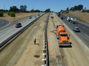Improvements on Highway 50 in El Dorado County include more than six miles of new carpool lanes.