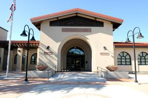 San Juan High School's remodel involved bringing both the campus and the curriculum up-to-date.  The architecture pays tribute to the California Mission style.