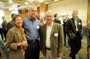From left: Jeanne Maloney of Western Contract, Eric Winje of DPR Construction and Carl Lubawy of LPAS Architecture + Design at the Sacramento Business Journal's 2012 Structures breakfast.