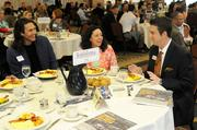 From left: Panelists Nick Bagelelos of BISEM Inc. and Placer County Treasurer-Tax Collector Jenine Windeshausen with Sacramento Business Journal publisher Terry Hillman at the 2012 Structures breakfast