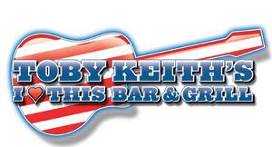 Toby Keith's I Love This Bar & Grill logo