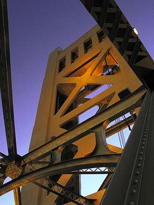 Sacramento wage growth Tower Bridge