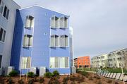 Sustainable development: UC Davis West Village. It was named a winner in the Sacramento Business Journal's 2011-2012 Best Real Estate Projects of the Year.