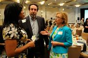 Sabrina Watts of CalTrans,Sam Spiegel of Public Safety Partnership LLC andCelia McAdam of Placer County Transportation Planning Agency at the 2012 Women Who Mean Business awards event.