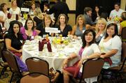 Employees of Owen-Dunn Insurance services at the Sacramento Business Journal's 2012 Healthiest Employers Award luncheon. The company was a finalist in the small business category.