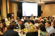 About 150 people attended the Sacramento Business Journal's 2012 Healthiest Employers Award luncheon.