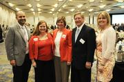 Also in attendance, were, from left, Alex Tahavian of the University of Phoenix, Amy Lerseth of Buzz Oates Managment Services, Martha Lofgren of Brewer Lofgren LLP, Jim Lofgren of Rental Housing Association of Sacramento Valley and Michelle Orock of the National Federation of Independent Business.