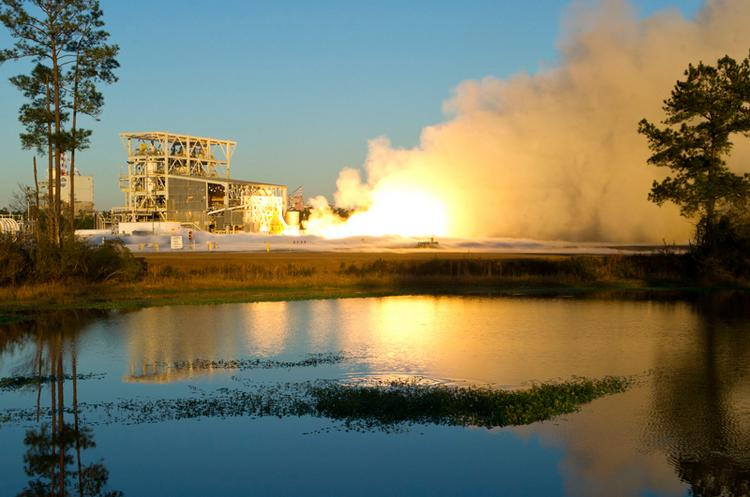 Aerojet successfully completed a hot-fire test of its AJ26 engine for the Antares rocket program.