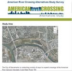 Examining American River crossing options in Natomas