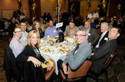"""Employees from the McCarthy Building Cos. Inc. attend the A+ Employers luncheon. The company, with a Roseville office, was honored as No. 1 in the """"large"""" category, which includes companies with 151 employees or more."""