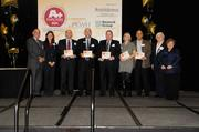 Some of the honorees from the A+ Employers luncheon are recognized as being some of the best places to work for, as rated by employees.