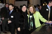 Business leaders and members of the community gathered for networking and good food at the Business Journal's Book of Lists party Monday night. At right is Rita Green.