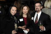 Business leaders and members of the community who like the Book of Lists got a chance to network and enjoy great food. At left is Theresa Saechao from the Business Journal; at right is Barry Pitluck with KVIE-TV.