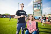 The annual Brewfest at Raley Field is back for another year, and is expected to attract more than 55 local breweries. A couple of attendees pose while enjoying the festivities in 2012.